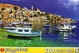 PuzzleBug 300 Piece Puzzle ~ Symi Island, Dodecannes, Greese