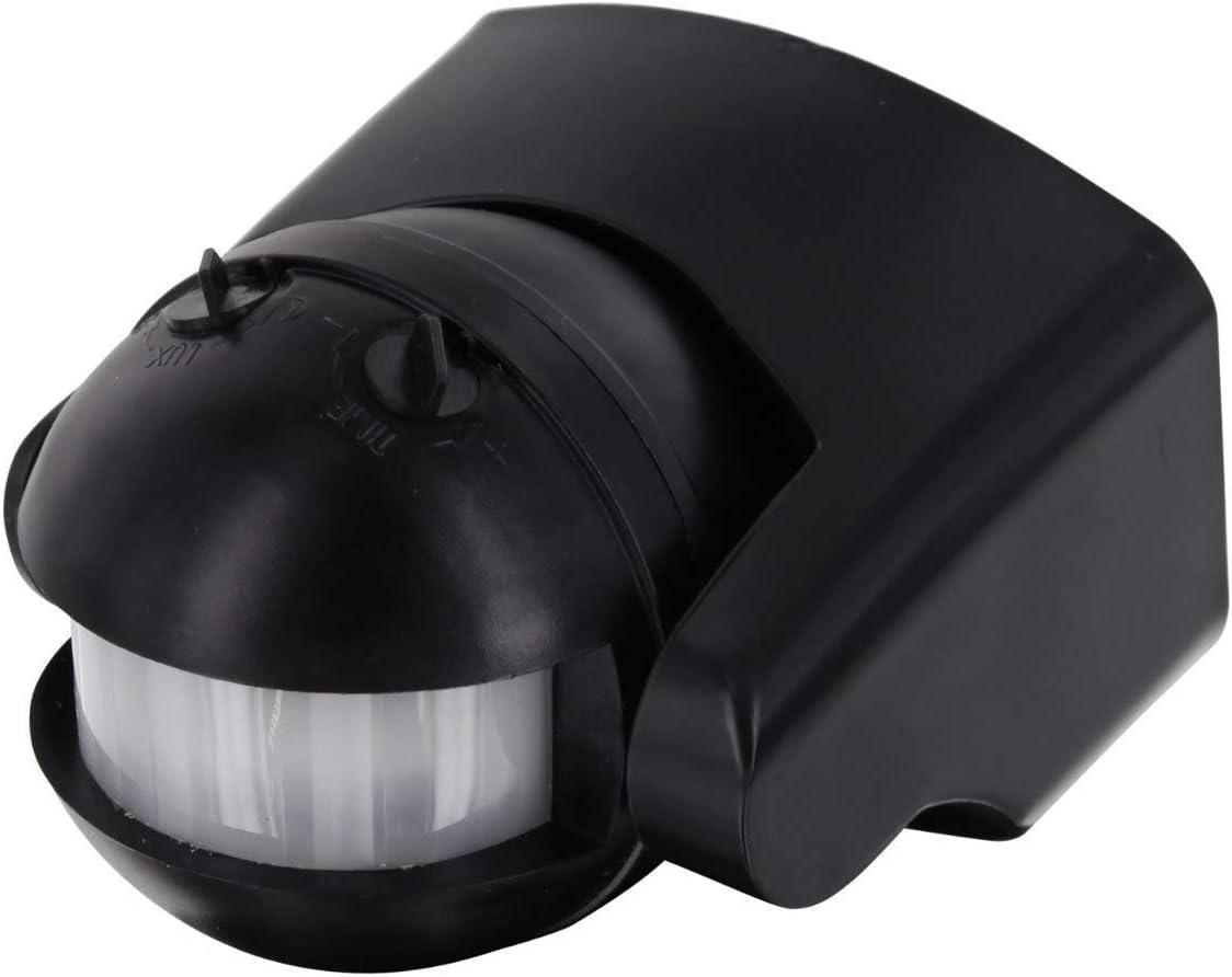 Detector de Movimiento IP44 Infrarrojos 180 ° – con Sensor de ...
