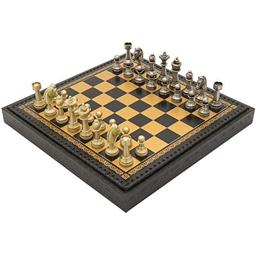 (Regencychess The Turin Nero Italian Chess Set)