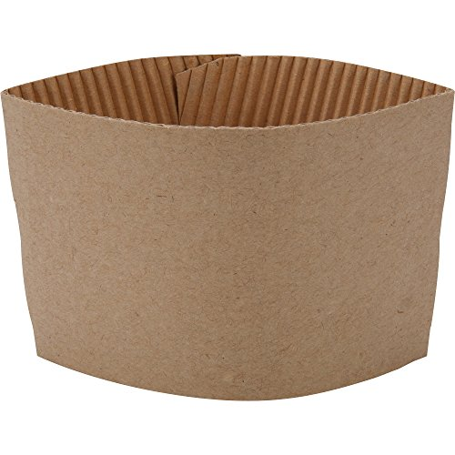 Corrugated Cup (Genuine Joe GJO19049CT Protective Corrugated Cup Sleeve, Brown (20 x Pack of 50))
