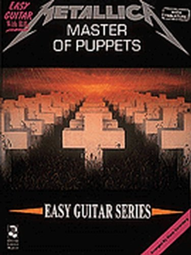 (Hal Leonard Metallica - Master of Puppets - Easy Guitar (TAB) )