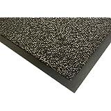 3M 21984 Paillasson, tissu polypropylène, support en vinyle, épaisseur totale 7 mm, gris
