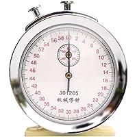 XIMINGJIA Cronómetro, cronómetro mecánico, Gran Pantalla, Fuente Grande, cronómetro Deportivo, Temporizador de Metal.