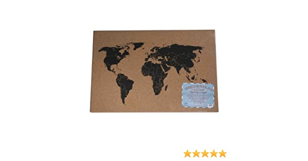 Amazon cork world atlas message board calculator and cash amazon cork world atlas message board calculator and cash register paper office products gumiabroncs Image collections
