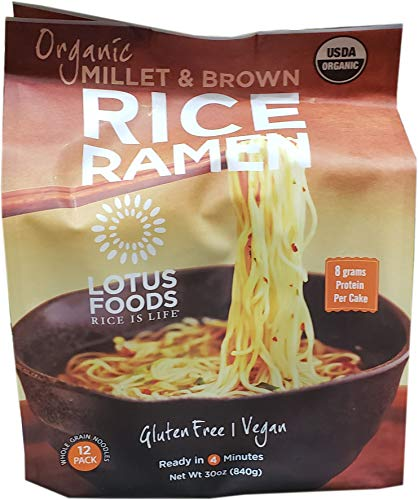 - Lotus Organic Brown Rice Ramen, 30 Ounce