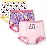 Disney Girls Minnie Mouse 3pk Training Pant