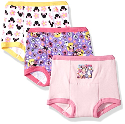Disney Girls' Toddler 3-Pack, Assorted, 4T