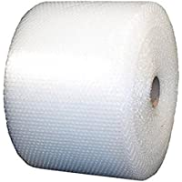 """USPACKSHOP up-12-175-15 175' 3/16"""" Small Bubble Cushioning Wrap Perforated Every 12"""", 12"""" Wide"""