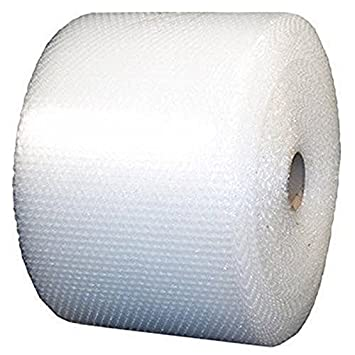 USPACKSHOP 175' 3/16 Small Bubble Cushioning Wrap Perforated Every 12, 12 Wide 12 Wide up-12-175-15