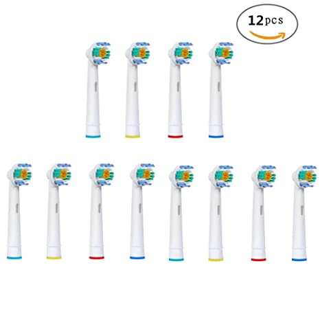 U-Prime® Cabezales de repuesto estándar compatible con cepillo de dientes eléctrico Braun Oral