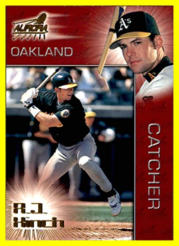1998 Pacific Aurora #68 A.J. Hinch oakland a's athletics Currently Manager 2017 World Series Champion Houston Astros -