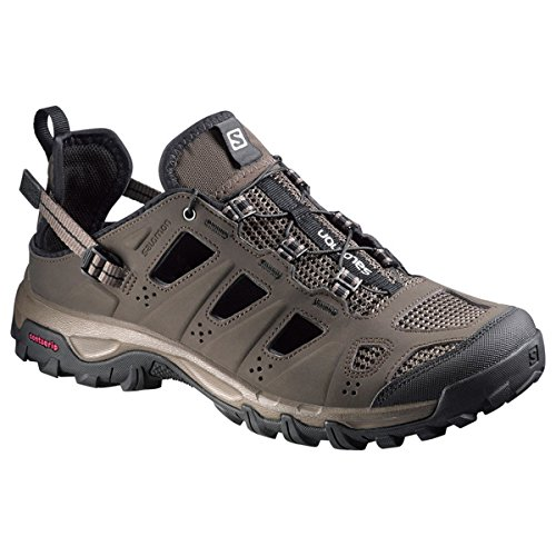 Salomon Evasion Cabrio, Stivali da Escursionismo Uomo Marrone (Absolute Brown/X/Burro/Black 000)