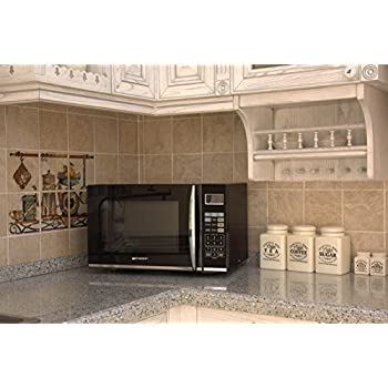 Emerson 1.2 Cu. Ft. 1100w Griller Microwave Oven With Touch Control, Stainless Steel, Mwg9115sb 4