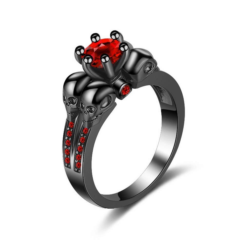 YAZILIND Elegant Square Shape Cubic Zirconia Gemstone Ring Platinum Plated Wedding Party Jewellery