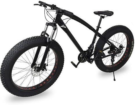 Fat Bike Bicicleta Todo Terreno Color Negro Riscko Deporte ...
