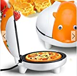 Kisstaker Life Diary HL-A 220V Cartoon Dolphin Multifunction Electric Cake Baking Pan Pizza Pan