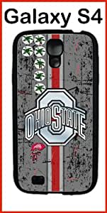 NCAA Ohio State University Ohio State Buckeyes Case for Samsung Galaxy S4 Case Silicone Case by mcsharks
