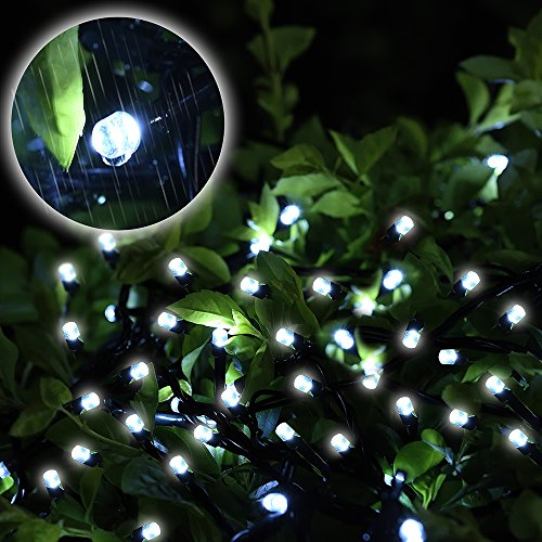 Solar Outdoor Decor String Lights Loende Waterproof 72ft