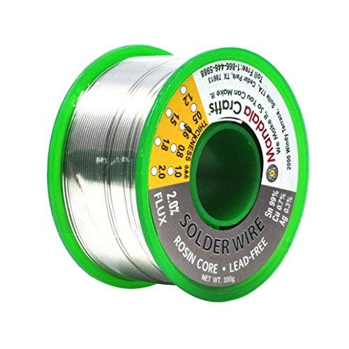 mandala-crafts-sn99-ag03-cu07-06mm-08mm-1mm-15mm-lead-free-2-flux-rosin-core-solder-wire-06mm