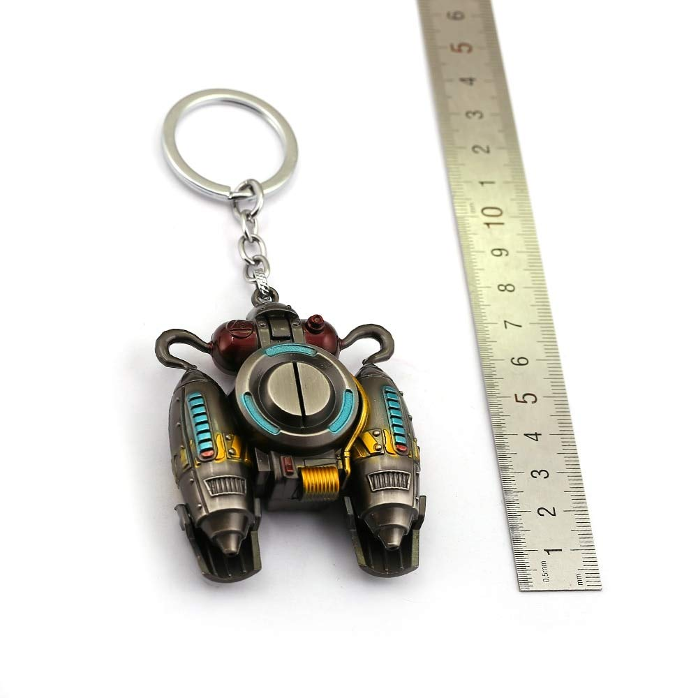 FITIONS - Game Battle Royale Keychain Metal Paragliding ...