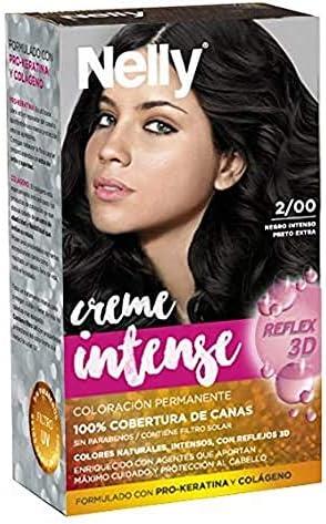 Nelly Set Tinte 2/00 Negro Intenso - 50 ml: Amazon.es: Belleza