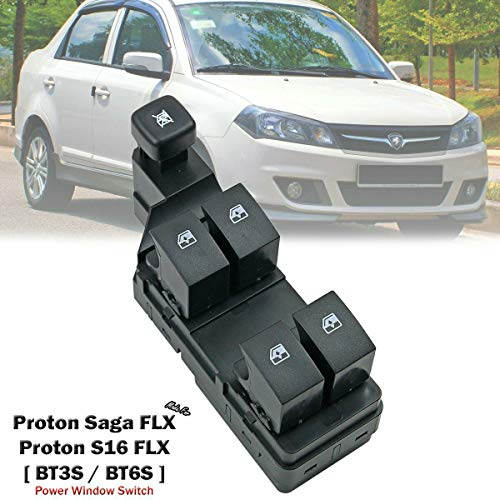 Front Power Window Switch Main Control For Proton Saga FL FLX BT3 BT6 2011-2016 – Go4CarZ Store