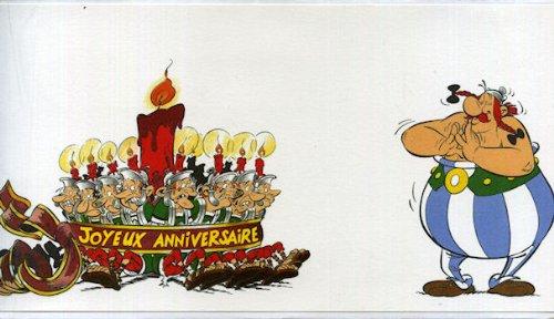 Exceptionnel Astérix - La Poste - Prêt-à-poster - carte Joyeux anniversaire  CL61