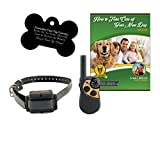 Petsafe Yard & Park Rechargeable Dog Training Collar with Free Customized Bone Shaped Tag and E-Book (1 Dog System)