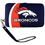 NFL Denver Broncos Distressed Logo Shell Wristlet