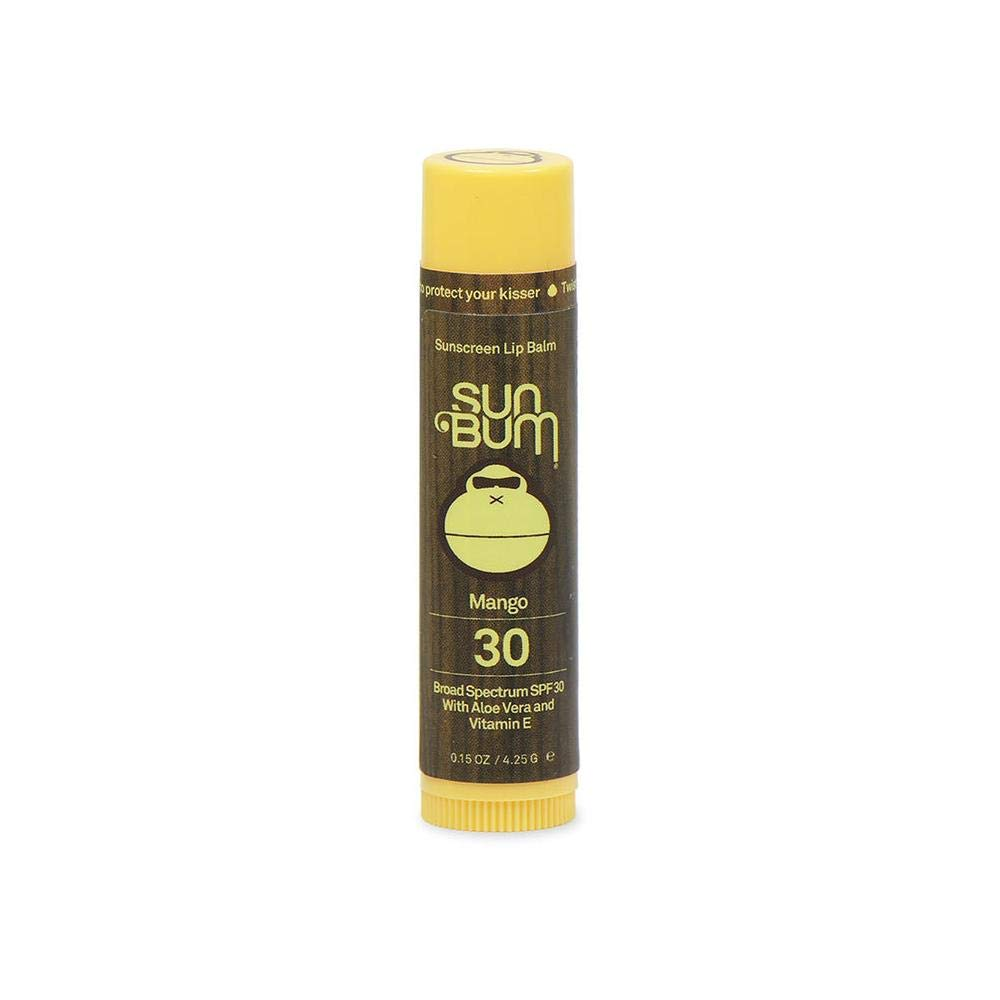 Sun Bum SPF 30 Lip Balm Mango 3 Pack by Sun Bum