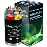 Packard Titan Flex Multi-rated Motor Run Capacitor 2.5 (3) - 67.5 MFD 440/370 V by Packard
