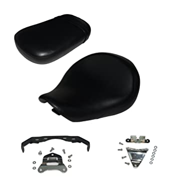 Amazon.com: parte delantera y trasera 2pcs Negro motocicleta ...