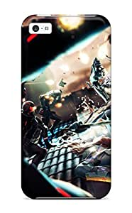 Hot KeEnjSx1967yEzXD Case Cover Protector For Iphone 5c- Visceral Katana Slice
