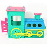 Zoeshare Kids EVA Foam Train Engine Playset