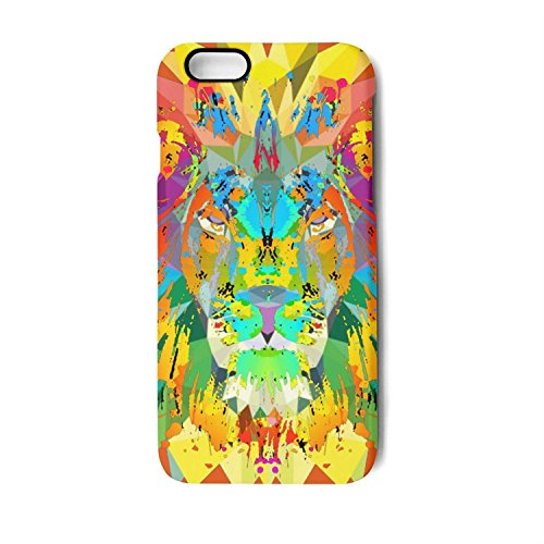 Case for Apple iphone6 plus and iphone6s plus the lion king coloring Shock-Absorption Bumper Cover Anti-Scratch Clear