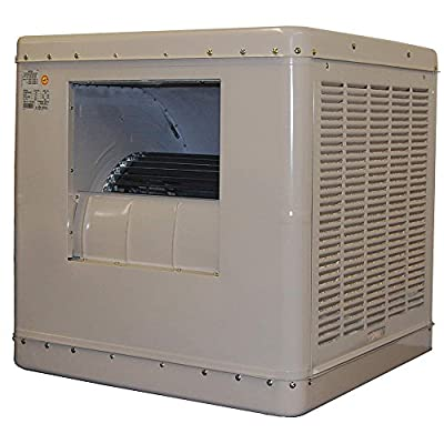 3000 cfm Ducted Evaporative Cooler with Motor, 115V