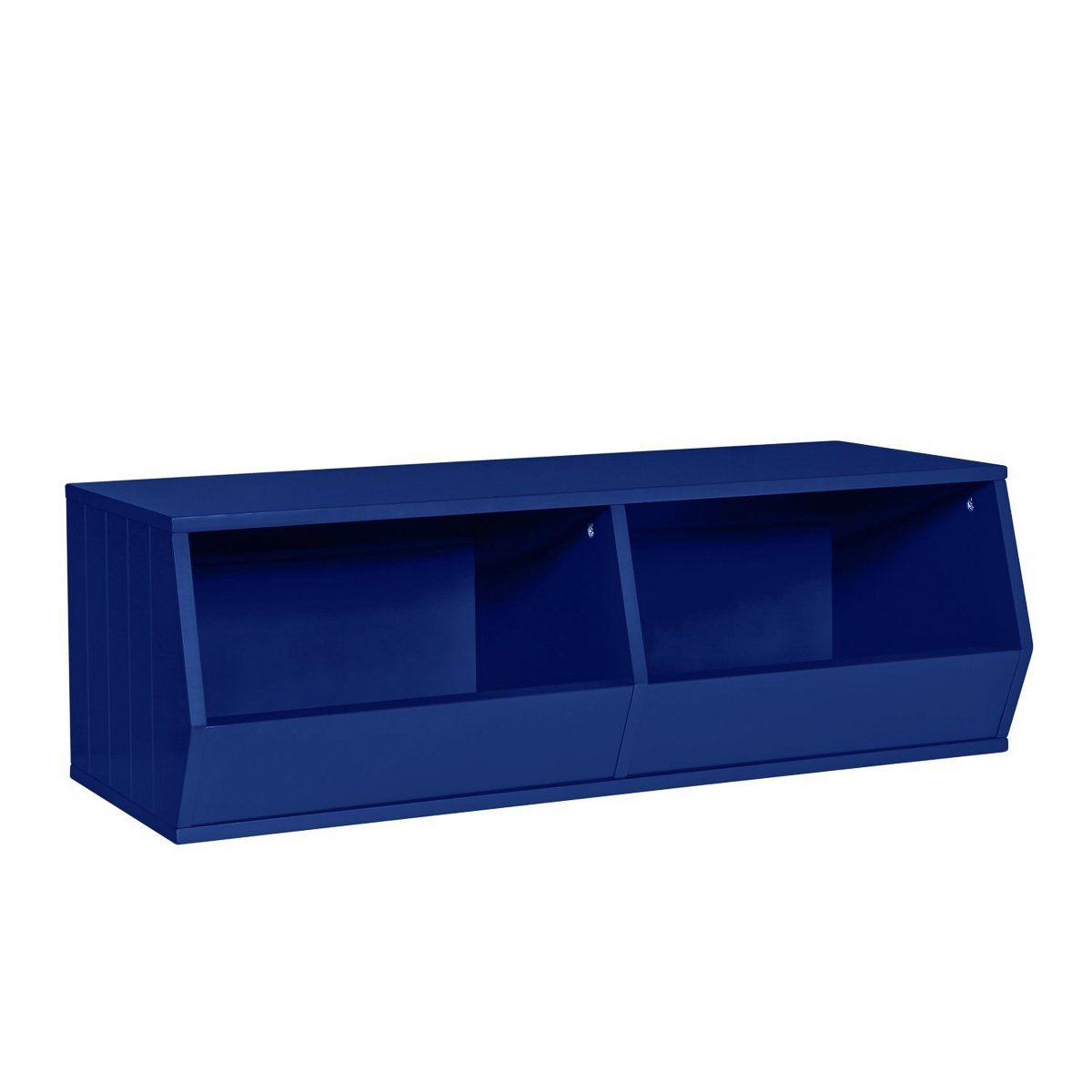RiverRidge Kids Storage Stacker-2 Veggie Bins, Navy