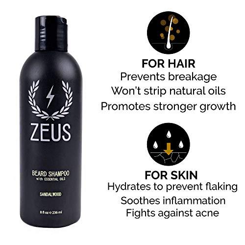 Buy beard shampoo and oil