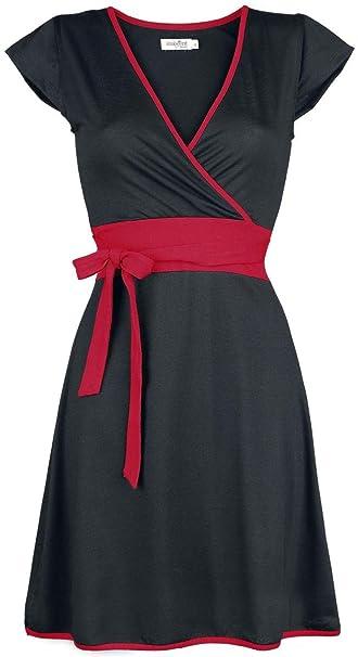 Innocent Vestido Innocent Hana Vestido negro/rojo S