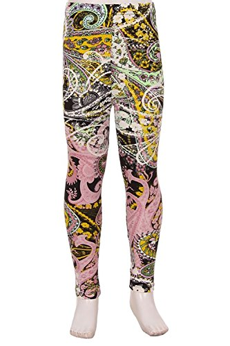 Kids Print Leggings Paisley Diary (N354-KIDS-LX)