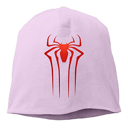 New York National Costume (YUVIA The Amazing Spider Men's&Women's Patch Beanie JoggingPink Caps For Autumn And Winter)