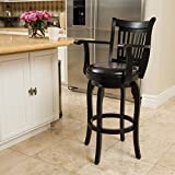 Swivel Bar Stools with Arms Christopher Knight Home 296819 Prescott 30