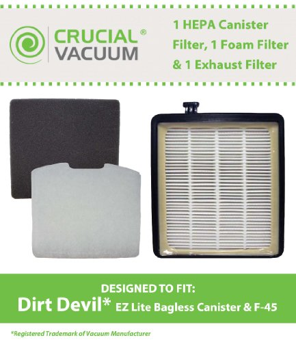 dirty devil canister vacuum - 7