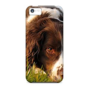 Cases For Iphone 5c With Dog Relaxing