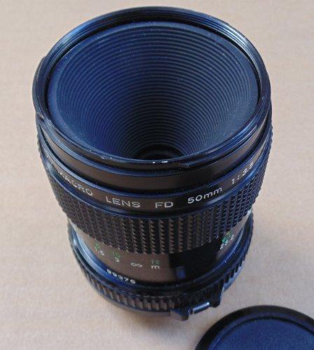 Canon Macro Lens FD 50mm