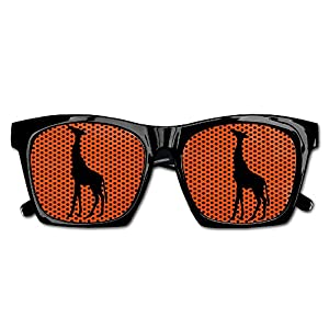 Elephant AN Themed Novelty Deer Stencil Outline Creative Visual Mesh Sunglasses Fun Props Party Favors Gift Unisex