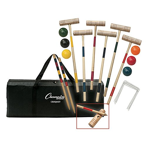 Champion Sports Tournament Series Croquet Set by Champion Sports