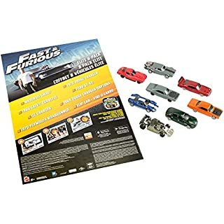 Fast & Furious Elite Diecast Vehicles, 8-Pack
