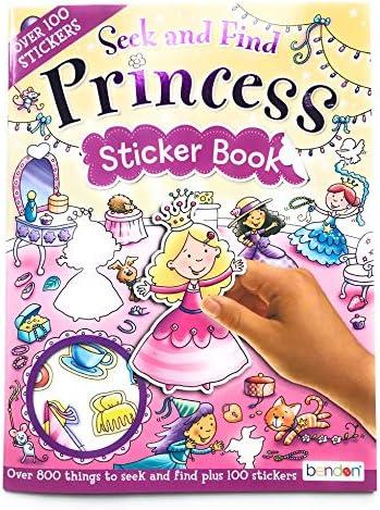 Bendon Princess Sticker Book Educational product image