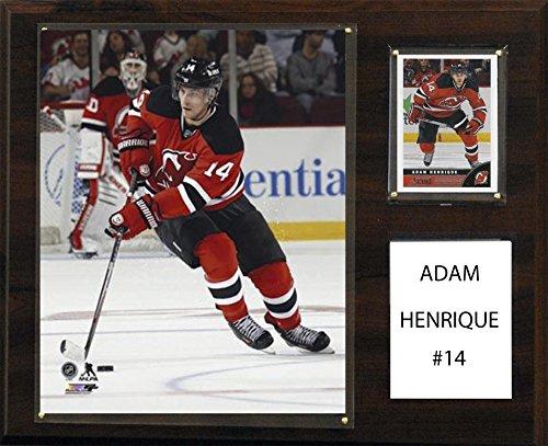 C&I Collectables NHL New Jersey Devils Adam Henrique 12 x 15-Inch Player Plaque - Devils Plaque Jersey New